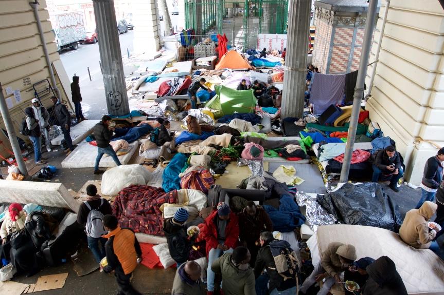 Parijs 1 ©Vluchtelingen in Europa