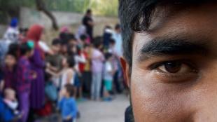 Portret 11 Lesbos ©Vluchtelingen in Europa