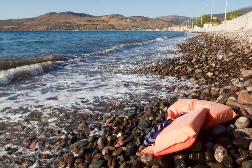 1 Lesbos ©Vluchtelingen in Europa