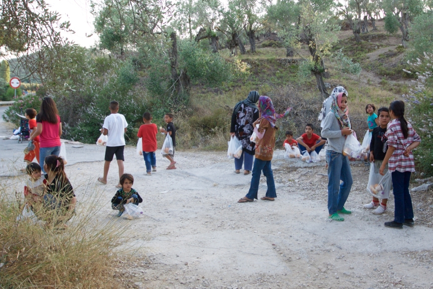 4 Lesbos - Kamp Moria ©Vluchtelingen in Europa