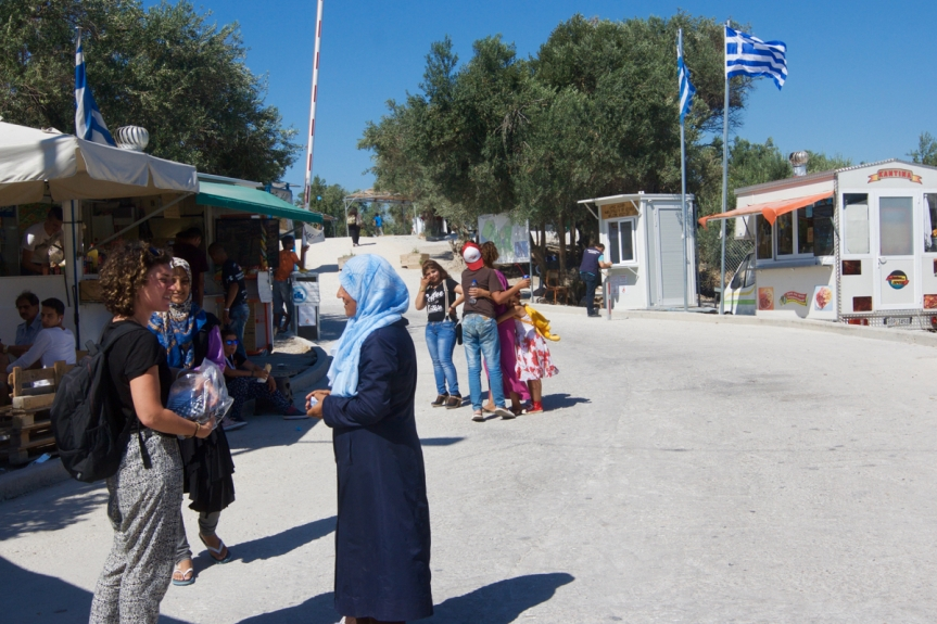 5 Lesbos - Kamp Kara Tepe ©Vluchtelingen in Europa