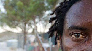 Portret 10 Lesbos ©Vluchtelingen in Europa