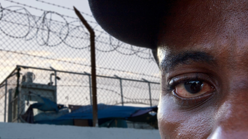 Portret 12-1- Lesbos ©Vluchtelingen in Europa