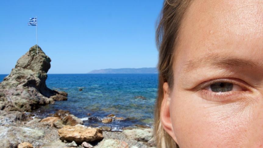 Portret 19- Lesbos ©Vluchtelingen in Europa