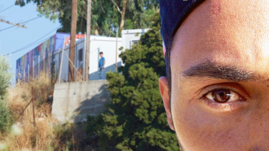 Portret 22- Lesbos ©Vluchtelingen in Europa